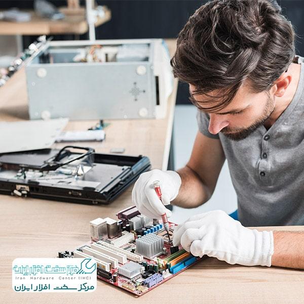 تعمیر مدار چاپی مادربرد